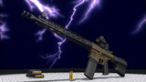 【MMD銃火器】WAKINYAN-300【配布】