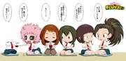 ヒロアカ女子会SD