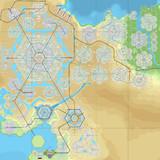 【CitiesSkylines】六角形の区画だけで街をつくる_南東エリア開発途中_EP24時点