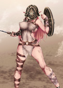 エルフの剣闘士