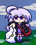 ポストゆかり(雨)