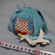 折り紙人形ユニコーンちゃん&ユーちゃん