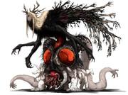 フォロワーの好きな要素を詰め込んだ創作獣を描くやつ その2