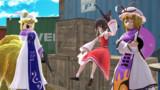 【東方MMD】東方GTA風イベントっぽいシーン