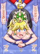 64マリオとクッパ姫