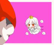 キングテレサ姫赤面する