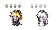 マウスカーソル クッパ姫・キングテレサ姫
