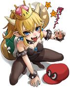 Jrクッパ姫「攫っちゃうぞぉ~」