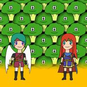 BAG (Broccoli, Angel-hero, Girl)