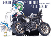 "DUCATI SCRAMBLER ""Cafe Racer"""