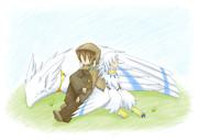 旅鳥と少年