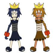 ワンワン姫(RPG仕様)&ワン・ツー姫