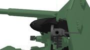 【MMD】105mmザクマシンガン(ショートバレル)っぽいもの作りました【自作モデル】