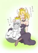 ホネメット姫とクッパ姫
