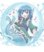 お歌うたうわかさぎ姫