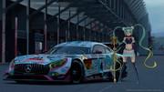 AMG GT3&レーシングミクさん