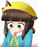 【GIFアニメ】無限にアメさんたべる睦月