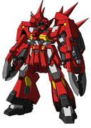 重武装の近距離専用メカ(赤カブト版)
