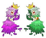 クラスター姫&ルピー姫