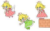ノコノコ姫(赤)・ノコノコ姫(緑)・パタパタ姫