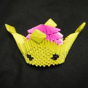 スーパークラウン(折り紙)