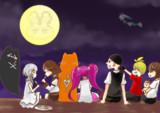 ヒーロー達のお月見!