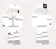 【minecraft】白血球さんのスキン作ってみた・改(サンプル)【はたらく細胞】