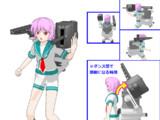 【MMD艦これ】多摩(艦これ) 公式艤装追加【モデル配布】