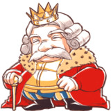 絵本風味な王様