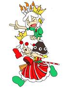 ストロベリー姫&ラズベリー姫
