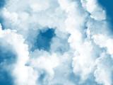 雲の向こうへ(素材)
