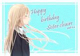 クレアさん誕生日