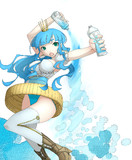ペットボトルのキャップ姫