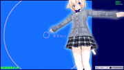 【MMD】JKアリスのふとももを愛でる動画【2018】