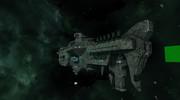 UFBS-010 ヘイムダル級宇宙戦艦 艤装(進捗度000%程度)