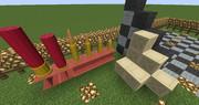 【Minecraft】ガレージ用装飾モデル【JointBlock】