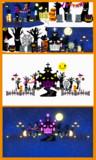 【MMD】ハロウィンねこ城ステージ【ステージ配布】