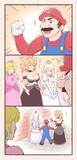 ピーチ姫当てクイズをみごとにはずしたマリオ