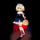 ルーミア姫(ハロウィン)