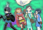 『GIRLS BE SWORD WORLD2.5』の4人