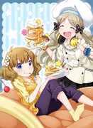 ロコと桃子とホットケーキ