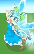 大剣と妖精
