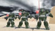 【MMD】戦え!リーマン戦隊!【ボトムズ】