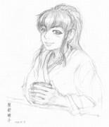 落書き 服部瞳子さんぽいの16 サントリー オールド