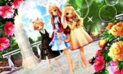 【今日のレア様】かわいい3人組♡