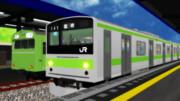 新型車両 国鉄205系!