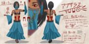 優雅な踊り子 アプサラス