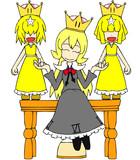 メビウス姫&リンリン姫×2