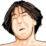 (ドットにされ苦悶の表情を浮かべる肉おじゃ)