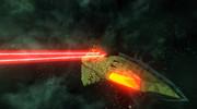 ガミラス帝国 デストリア級航宙重巡洋艦 陽電子ビーム砲斉射